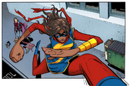 Kamala Khan Ms Marvel stride