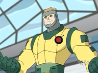 Colonel Jupiter Superhero