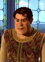 Shrek's human form