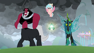 Tirek, Cozy, and Chrysalis eager to fight S9E25