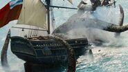 Pirates of the Caribbean kraken
