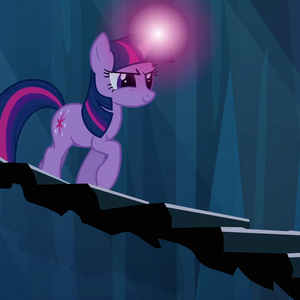 Twilight begins trotting down stairway S3E2.png