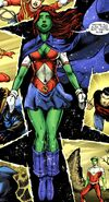 Miss Martian telepathy