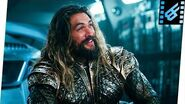 Aquaman (Justice League) speaks the truth while sitting on the Lasso of Truth