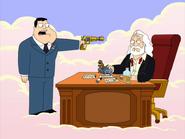 Stan Smith (American Dad) Heaven gun