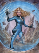 Invisible Woman Barrier