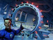 Reed Richards Mister Fantastic (Marvel Comics) Dark reign fantastic four