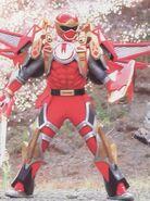 Red Tri-Battlized Armor