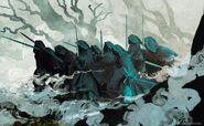 Anato Finnstark's The Nine Wraiths Lord of the Rings