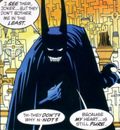 Batman's pure heart