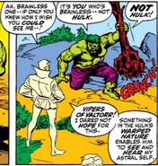 Hulk Sees Astral