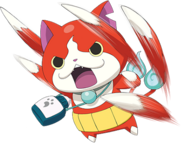 Jibanyan (Yo-kai Watch) Paws of Fury
