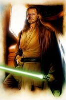 Qui-Gon Jinn's lightsaber Star Wars