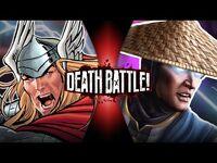 Thor VS Raiden (Marvel VS Mortal Kombat) - DEATH BATTLE!