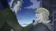 Vampire (JoJo) sucking blood
