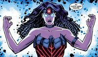 Wonder Woman Zeus Powers