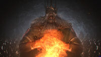 Gwyn Lord of Sunlight Dark Souls