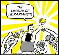 League of Librarians (Lunch Lady Series)