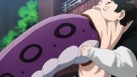 Pig God (One Punch Man) eating