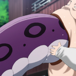 Pig God (One Punch Man) eating.png