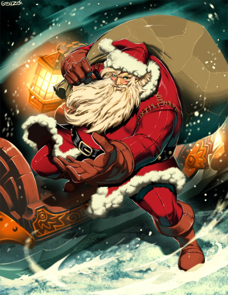 Christmas Entity Physiology