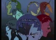 Sensui's seven personalities