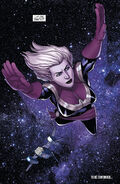 Carol Danvers space flight