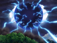 Enel using Raigo to destroy Angel Island