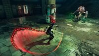 DSIII Subway demon slaying