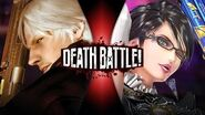 Dante VS Bayonetta DEATH BATTLE!