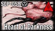 Scp-058 Heart of Darkness keter Hostile sentient scp