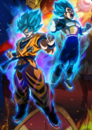DBSB SSJB Goku and Vegeta