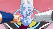 Whis training with Goku and Vegeta
