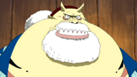 Tom the shipwright's Manliess (One Piece)