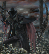 Gehrman Bloodborne scythe