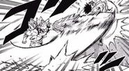 Hojo slashes Tamaki with a crystal sword