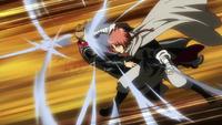 Kamui punches Nobu Nobu