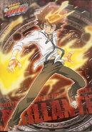 Tsuna Sawada (Katekyo Hitman Reborn!) flight