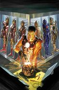 Tony StarkIron Man The Golden Avenger by Alex Ross