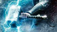 Mjolnir projecting lightning