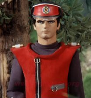 The Captain Scarlet likeness