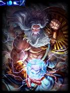 Zeus, God of Sky