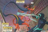 Ms. Marvel Kamala Khan (Marvel Comics) dodge