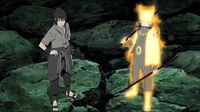 Naruto Sasuke - Six Paths chakra