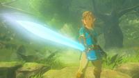 BotW Link Master Sword Full Power