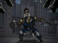Cyborg Superhero