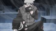 Kakashi Using Kamui on Himself