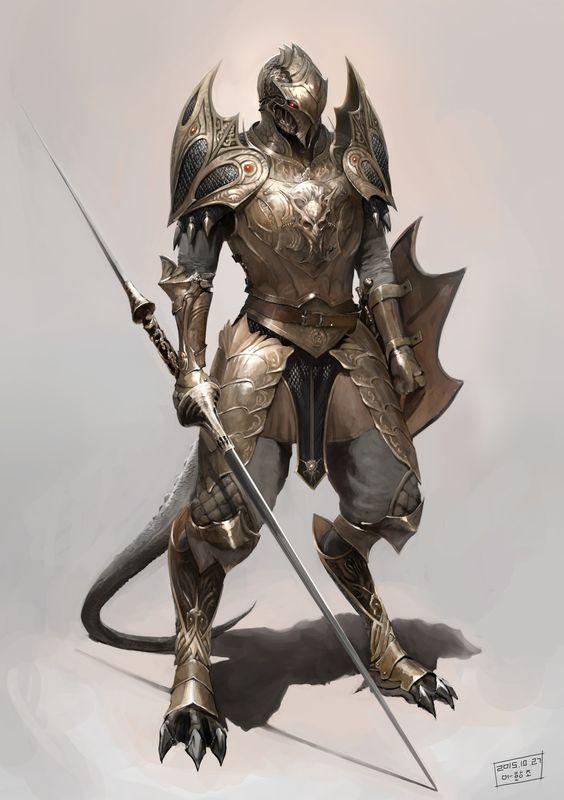 Cursed warrior 343/Lizard thugs