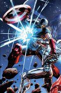 Avengers Vol 5 44 Captain America's Exoskeleton