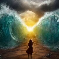 Moses Splits The Sea2